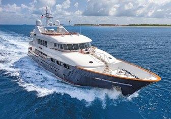 Bacchus yacht charter Trinity Yachts Motor Yacht
