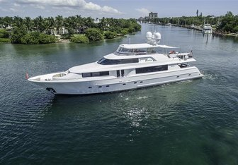 Something Southern yacht charter Westport Yachts Motor Yacht