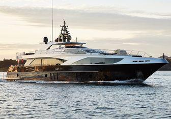 Ghost II yacht charter Gulf Craft Motor Yacht