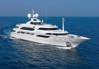 Meamina yacht charter Benetti Motor Yacht