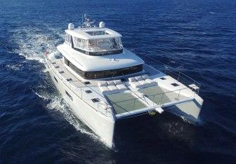 Long Monday yacht charter Lagoon Motor Yacht