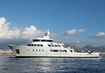 Aspire Yacht Charter in Aegean Islands