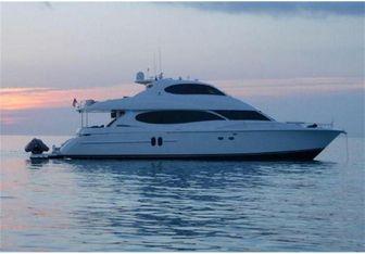 Melvinville III yacht charter Lazzara Motor Yacht