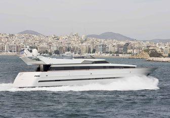 Astir yacht charter Cantieri di Pisa Motor Yacht
