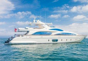 Amanecer charter yacht interior designed by Marmol-Radziner