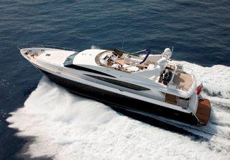 Molly Malone yacht charter Princess Motor Yacht