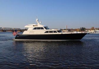 Liberty yacht charter Lyman-Morse Motor Yacht