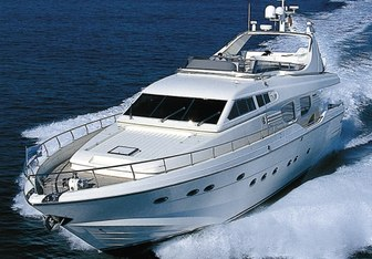 Valco yacht charter Posillipo Motor Yacht