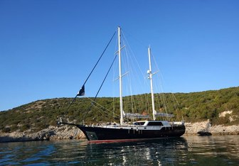 Didi yacht charter Custom Sail Yacht
