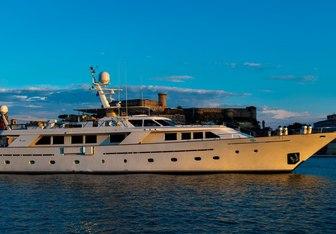 Nightflower yacht charter Codecasa Motor Yacht