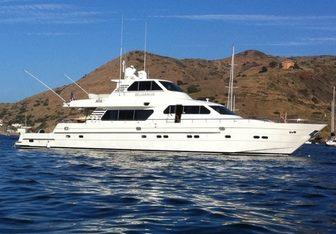 Belisarius yacht charter Horizon Motor Yacht