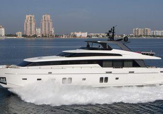 Freddy yacht charter Sanlorenzo Motor Yacht