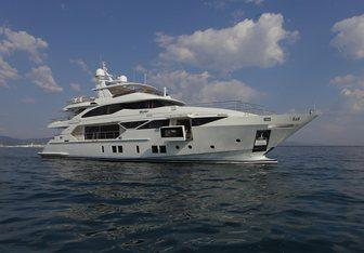 Inspiration yacht charter Benetti Motor Yacht