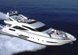 Sascha yacht charter Dominator Motor Yacht