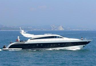 Friday yacht charter Leopard Motor Yacht