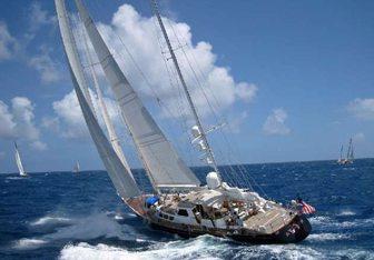 Avalon yacht charter Southern Pacific Sail Yacht