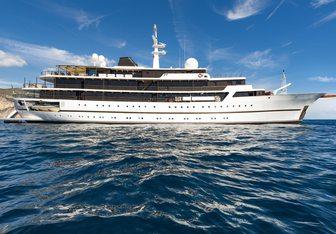 Chakra Yacht Charter in The Balearics