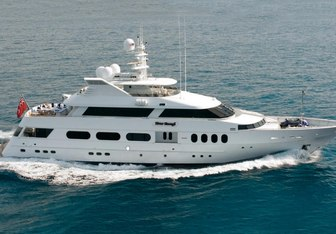 Never Enough yacht charter Feadship Motor Yacht