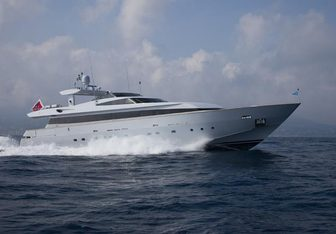 4Us yacht charter Baglietto Motor Yacht