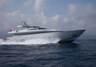 4Us yacht charter Baglietto Motor Yacht