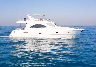 Rafia yacht charter Al Shaali Marine Motor Yacht