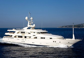 Tommy yacht charter Benetti Motor Yacht
