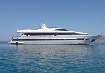 Erato yacht charter Tecnomarine Motor Yacht