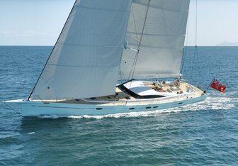 Danneskjold yacht charter Southern Ocean Marine Sail Yacht