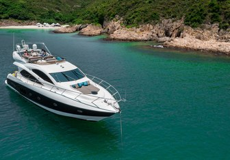 Infinity Eight Yacht Charter in Asia