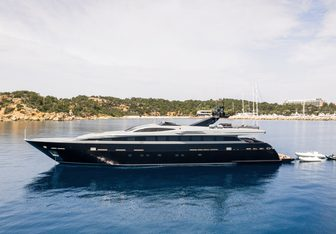 Mado charter yacht exterior designed by Espinosa Yacht Design