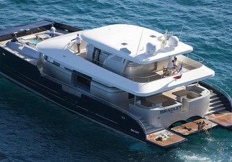 Bradley yacht charter H2X Motor Yacht