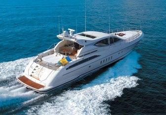 Dolce Vita II yacht charter Leopard Motor Yacht
