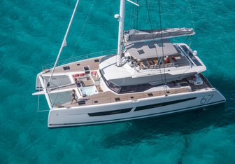 Number One yacht charter Fountaine Pajot Motor/Sailer Yacht