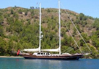 Kaya Guneri V yacht charter Bodrum Shipyard Motor/Sailer Yacht