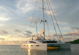 Akasha yacht charter Matrix Yachts Sail Yacht