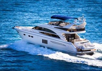Pamango yacht charter Princess Motor Yacht