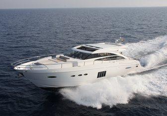 Tao yacht charter Princess Motor Yacht