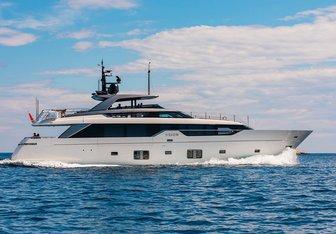 Noor II yacht charter Sanlorenzo Motor Yacht