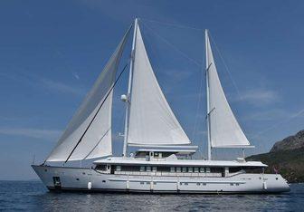 Aiaxaia yacht charter Brodosplit Motor/Sailer Yacht