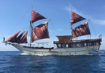Nyaman Boat Yacht Charter in Indonesia