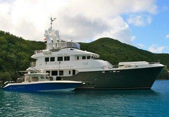 Vega yacht charter Nordhavn Motor Yacht
