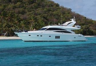 Sorana yacht charter Princess Motor Yacht