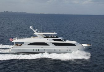 Second Amendment yacht charter Hargrave Motor Yacht