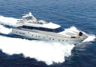 Altair yacht charter Canados Motor Yacht