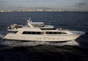 Checkered Past yacht charter Westport Yachts Motor Yacht