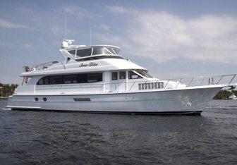Sheer Bliss yacht charter Hatteras Motor Yacht