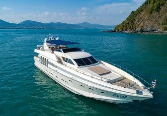 Say Yes yacht charter Posillipo Motor Yacht