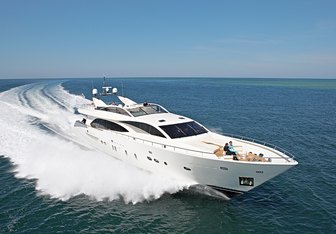 Water Toy III yacht charter Couach Motor Yacht