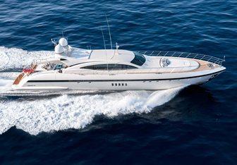 Lionchase yacht charter Overmarine Motor Yacht