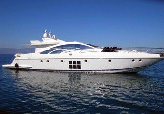 Vanilla yacht charter Azimut Motor Yacht